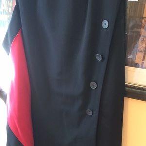 Dkny Dresses - DKNY Black short sleeve dress sz 2